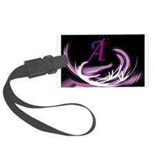 abstract purple Luggage Tag