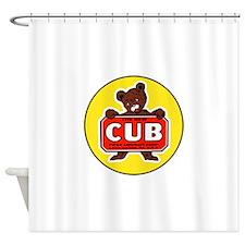 Piper Cub Shower Curtain