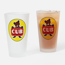 Piper Cub Drinking Glass