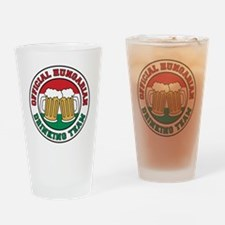 Official Hungarian Drinking Team Drinking Glass