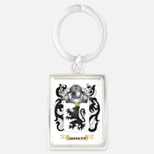 Jarrett Coat of Arms (Family Cre Portrait Keychain