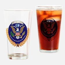 T-FLAC LOGO Drinking Glass