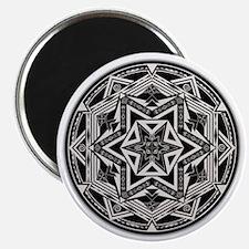 Between Worlds Mandala Magnet
