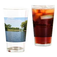 Mississippi River Drinking Glass