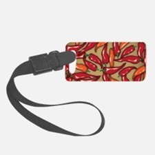 Red Chilli Peppers Luggage Tag
