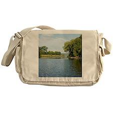 Mississippi River Messenger Bag