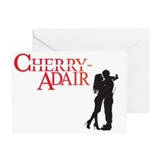 Cherry Adair Logo with Couple Greeting Card