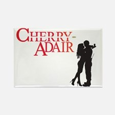 Cherry Adair Logo with Couple Rectangle Magnet