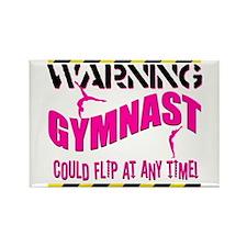 Warning_Gymnast Magnets