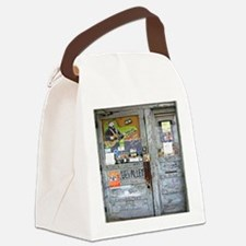 Ground Zero Blues Club Old Doors  Canvas Lunch Bag
