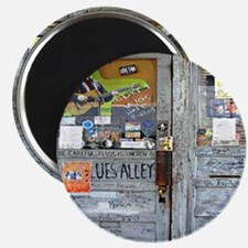 Ground Zero Blues Club Old Doors Graffiti Magnet