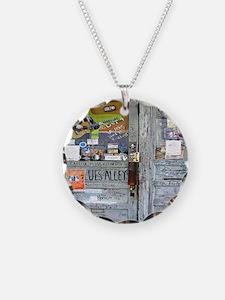 Ground Zero Blues Club Old D Necklace
