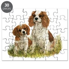 Cavalier King Charles Spaniel  Pup Puzzle