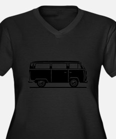 T2 - Drive by Bus (+ your Text) Plus Size T-Shirt