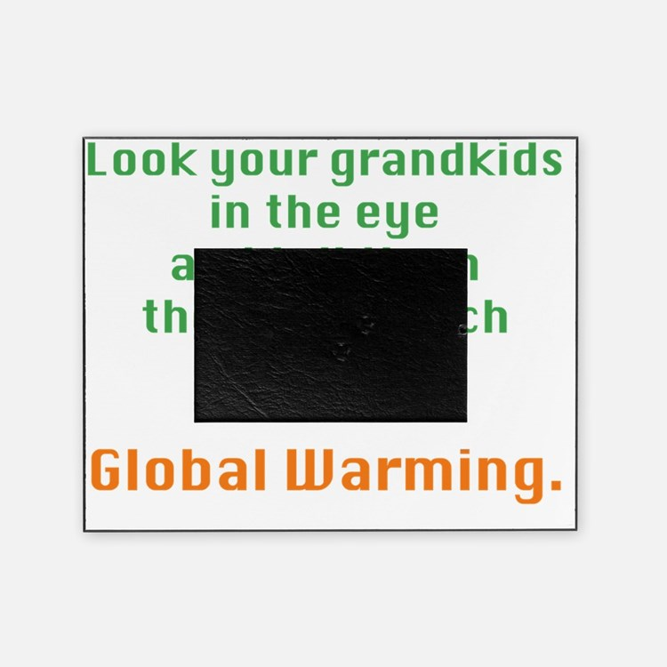 Global Warming Picture Frame