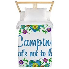 Camping to Love Twin Duvet