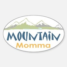 Mountain Momma Rectangle Decal