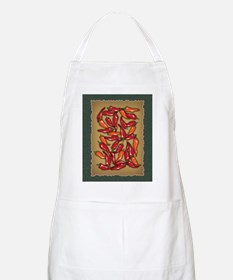 Red Chilli Peppers Apron