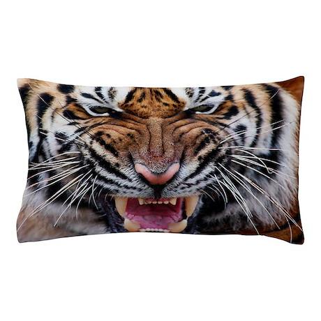 Big Cat Tiger Roar Pillow Case
