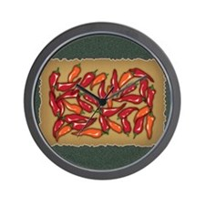 Red Chilli Peppers Wall Clock