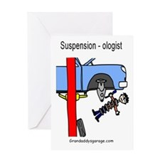 Suspension -Ologist Greeting Card