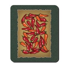 Red Chilli Peppers Mousepad