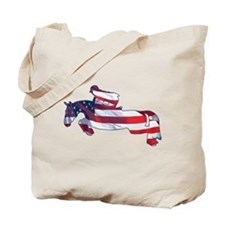 Hunter Jumper American Horse Tote Bag