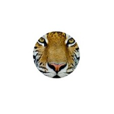 Big Cat Tiger Roar Mini Button