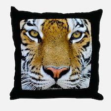 Big Cat Tiger Roar Throw Pillow