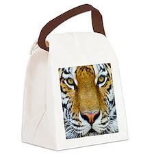 Big Cat Tiger Roar Canvas Lunch Bag