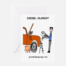 Diesel-Ologist Greeting Card