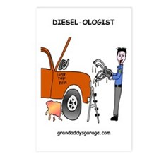 Diesel-Ologist Postcards (Package of 8)