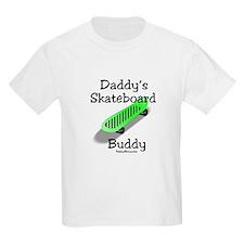 Daddy's Skateboard Buddy T-Shirt