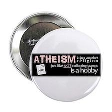 """Unique Atheism 2.25"""" Button (10 pack)"""