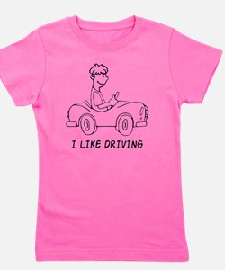 I Like Driving Girl's Tee