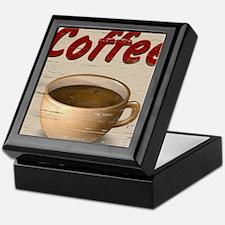 Coffee 2 Keepsake Box