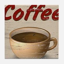 Coffee 2 Tile Coaster