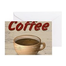 Coffee 2 Greeting Card