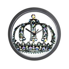 Royal Tiara Wall Clock