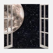 Magical Moon Tile Coaster