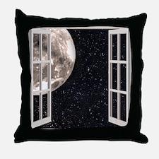 Magical Moon Throw Pillow