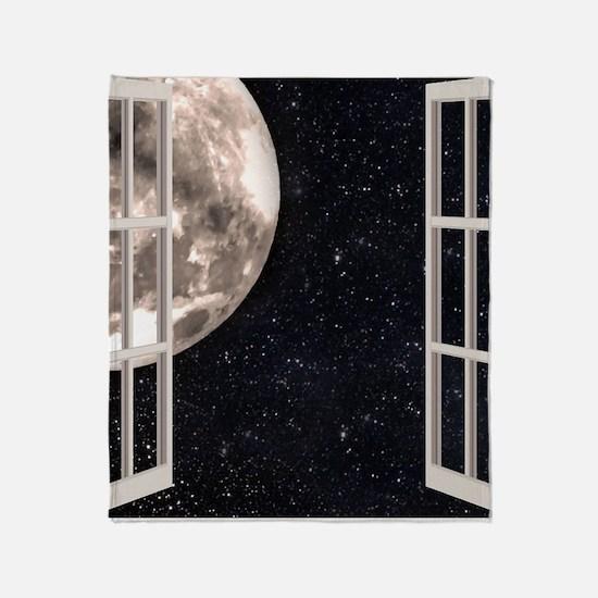 Magical Moon Throw Blanket