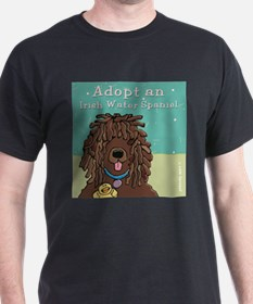 Adopt an Irish Water Spaniel T-Shirt