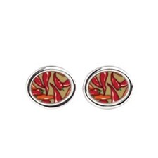 Red Chilli Peppers Cufflinks