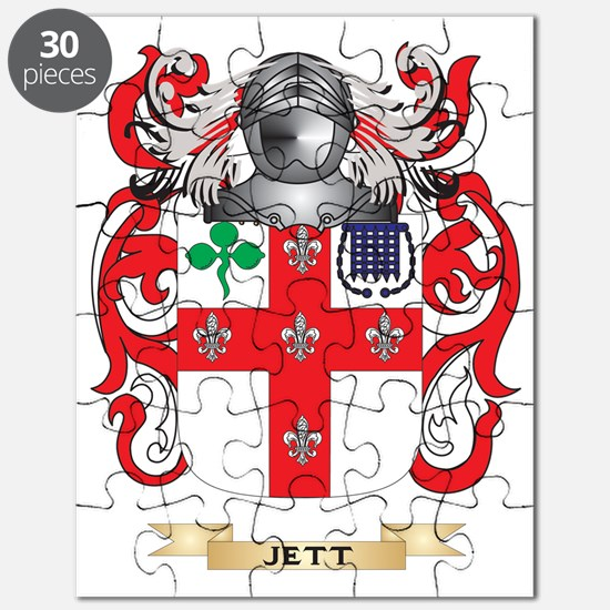 Jett Coat of Arms (Family Crest) Puzzle