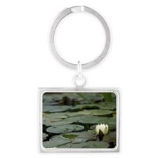 Lily Pad Landscape Keychain