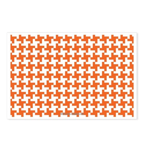 Retro Houndstooth Vintage Postcards (Package of 8)