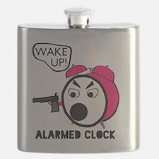 Alarmed Clock Flask