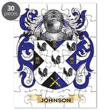 Johnson Coat of Arms (Family Crest) Puzzle