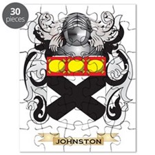 Johnston Coat of Arms (Family Crest) Puzzle